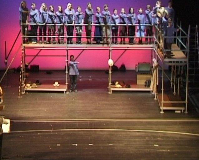 Brundibar:Anfang der Oper - Einsatz Chor