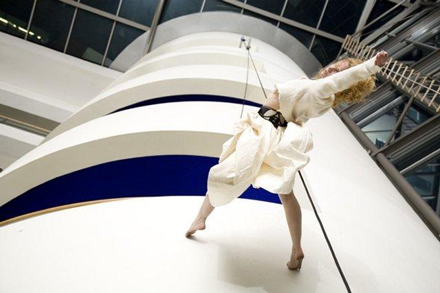 Fliegender Tanz