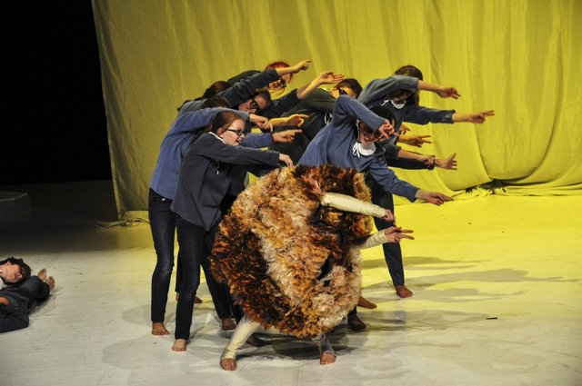 Es mit Kindern- Uraufführung Foto:© R. Schwarz