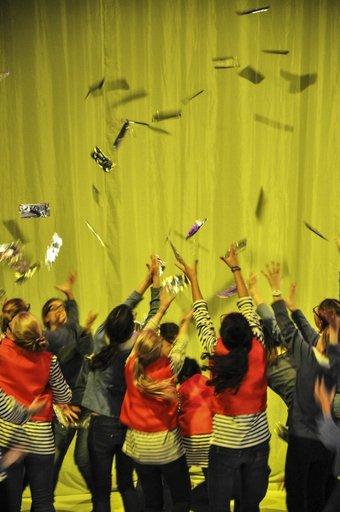 Schokoladenregen- Uraufführung Foto:© R. Schwarz