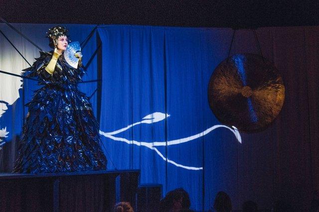 Blaue Turandot